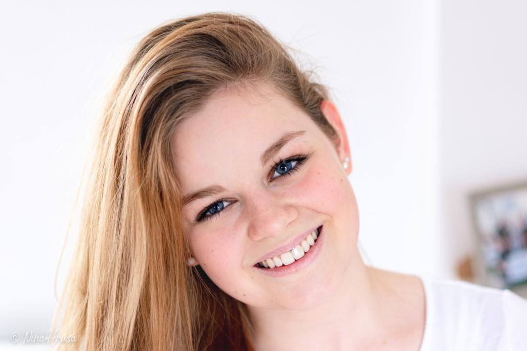 Close Up Porträt, Mädchen, Zwischenmomente | Nina Hrusa Photography