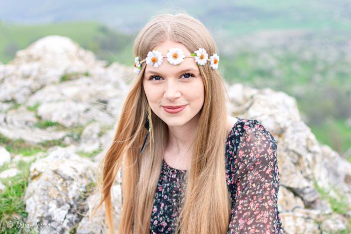 Hippie Girl , Porträt, Zwischenmomente | Nina Hrusa Photography