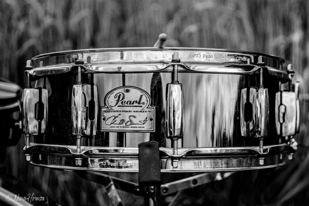 Pearl Drums, black and white photo, Zwischenmomente | Nina Hrusa Photography