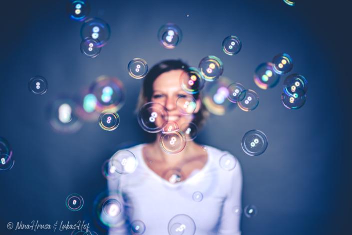 Nina Hrusa, Seifenblasen, Zwischenmomente | Nina Hrusa Photography