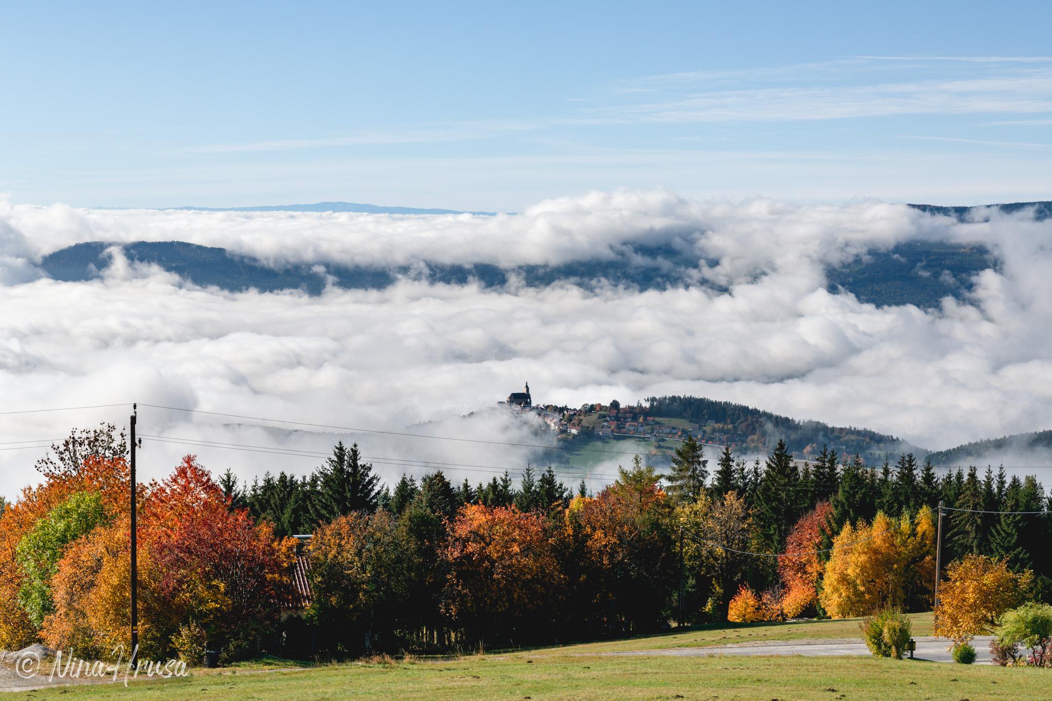 Wolken, Herbst, Pöllauberg, Steiermark, Zwischenmomente | Nina Hrusa Photography